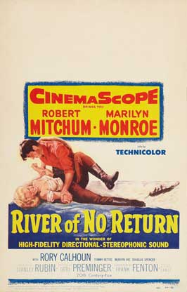 River of No Return - 27 x 40 Movie Poster - Style F