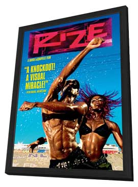 Rize - 11 x 17 Movie Poster - Style B - in Deluxe Wood Frame