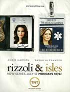 Rizzoli & Isles - 11 x 17 TV Poster - Style B