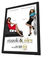 Rizzoli & Isles - 11 x 17 Movie Poster - Style C - in Deluxe Wood Frame
