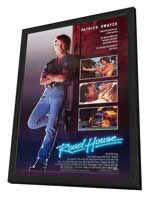 Road House - 27 x 40 Movie Poster - Style B - in Deluxe Wood Frame