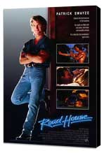 Road House - 27 x 40 Movie Poster - Style A - Museum Wrapped Canvas