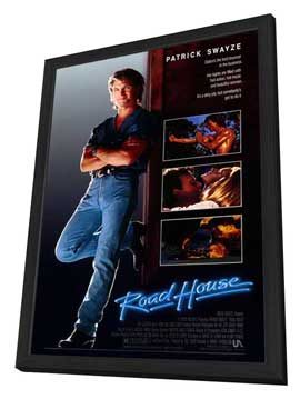 Road House - 27 x 40 Movie Poster - Style A - in Deluxe Wood Frame