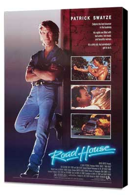Road House - 27 x 40 Movie Poster - Style B - Museum Wrapped Canvas