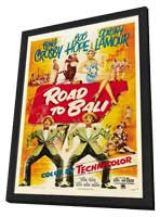Road to Bali - 27 x 40 Movie Poster - Style B - in Deluxe Wood Frame