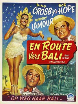 Road to Bali - 11 x 17 Movie Poster - Belgian Style A