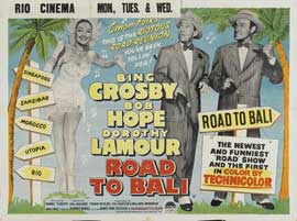 Road to Bali - 22 x 28 Movie Poster - Half Sheet Style A