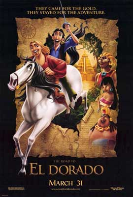 The Road to El Dorado - 11 x 17 Movie Poster - Style A