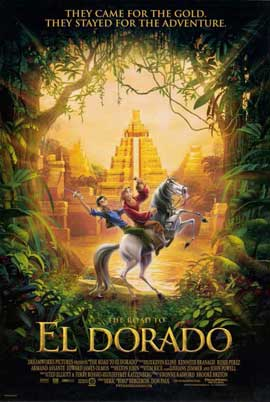 The Road to El Dorado - 11 x 17 Movie Poster - Style C