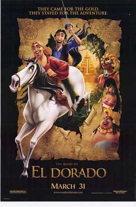 The Road to El Dorado - 27 x 40 Movie Poster - Style A