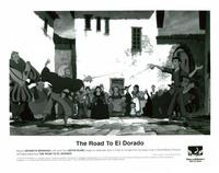 The Road to El Dorado - 8 x 10 B&W Photo #1