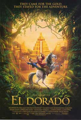 The Road to El Dorado - 27 x 40 Movie Poster - Style B