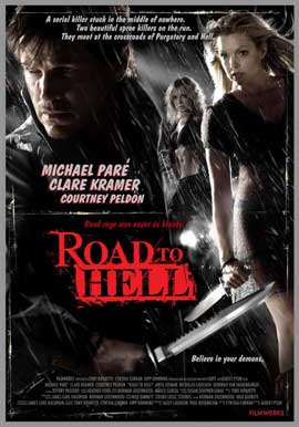 Road to Hell - 11 x 17 Movie Poster - Style A