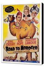The Road to Morocco - 27 x 40 Movie Poster - Style A - Museum Wrapped Canvas