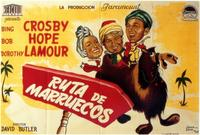 The Road to Morocco - 11 x 17 Movie Poster - Spanish Style A