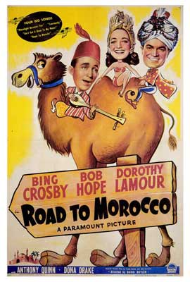 The Road to Morocco - 27 x 40 Movie Poster - Style A