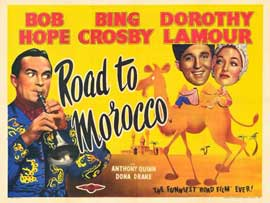 The Road to Morocco - 11 x 14 Movie Poster - Style B