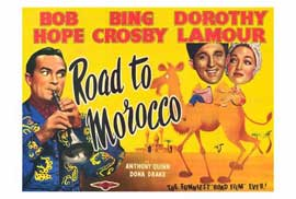 The Road to Morocco - 27 x 40 Movie Poster - Style B