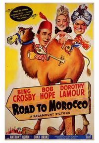 The Road to Morocco - 43 x 62 Movie Poster - Bus Shelter Style A