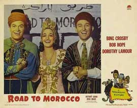 The Road to Morocco - 11 x 14 Movie Poster - Style C
