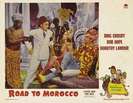 The Road to Morocco - 11 x 14 Movie Poster - Style D
