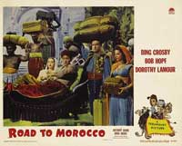 The Road to Morocco - 11 x 14 Movie Poster - Style E