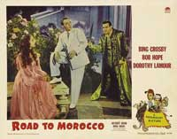 The Road to Morocco - 11 x 14 Movie Poster - Style F