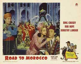The Road to Morocco - 11 x 14 Movie Poster - Style G