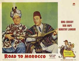 The Road to Morocco - 11 x 14 Movie Poster - Style H