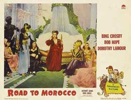 The Road to Morocco - 11 x 14 Movie Poster - Style I