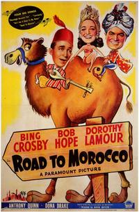 The Road to Morocco - 11 x 17 Movie Poster - Style A - Museum Wrapped Canvas
