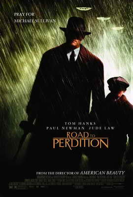 Road to Perdition - 27 x 40 Movie Poster - Style A