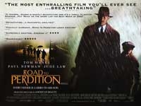 Road to Perdition - 30 x 40 Movie Poster UK - Style A