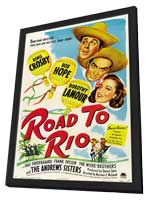 Road to Rio - 11 x 17 Movie Poster - Style A - in Deluxe Wood Frame