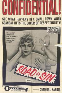 Road to Sin - 27 x 40 Movie Poster - Style A