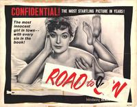 Road to Sin - 22 x 28 Movie Poster - Half Sheet Style A