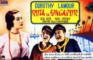 The Road to Singapore - 11 x 17 Movie Poster - Spanish Style A
