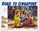 The Road to Singapore - 11 x 14 Movie Poster - Style A