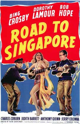 The Road to Singapore - 11 x 17 Movie Poster - Style A
