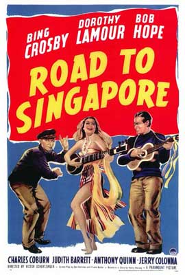 The Road to Singapore - 27 x 40 Movie Poster - Style A
