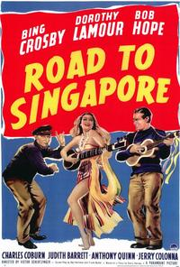 The Road to Singapore - 43 x 62 Movie Poster - Bus Shelter Style A