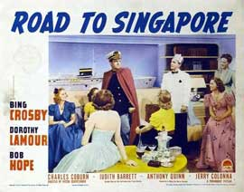 The Road to Singapore - 11 x 14 Movie Poster - Style B
