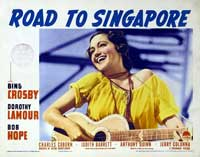 The Road to Singapore - 11 x 14 Movie Poster - Style D