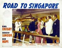 The Road to Singapore - 11 x 14 Movie Poster - Style E