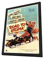 The Road to Utopia - 11 x 17 Movie Poster - Style A - in Deluxe Wood Frame