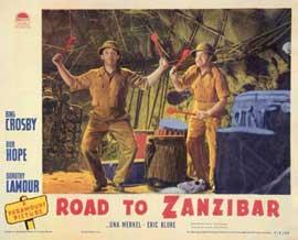 Road to Zanzibar - 11 x 14 Movie Poster - Style A