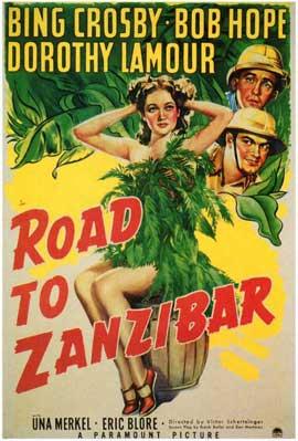 Road to Zanzibar - 27 x 40 Movie Poster - Style B