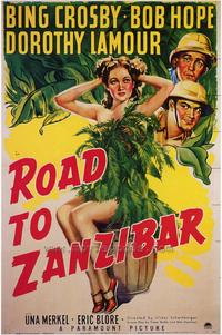 Road to Zanzibar - 43 x 62 Movie Poster - Bus Shelter Style A