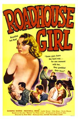 Roadhouse Girl - 11 x 17 Movie Poster - Style A