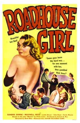 Roadhouse Girl - 27 x 40 Movie Poster - Style A